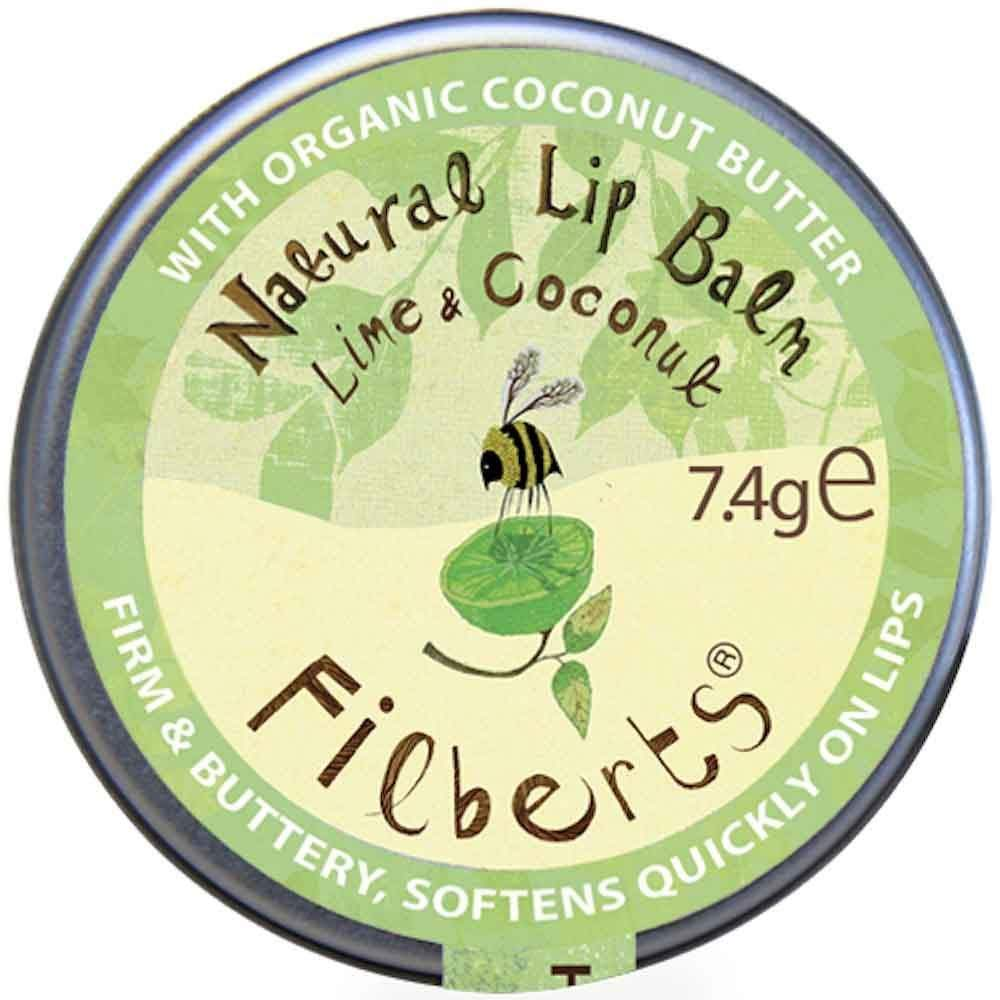 Lime & Coconut Natural Lip Balm by Filberts Bees &Keep