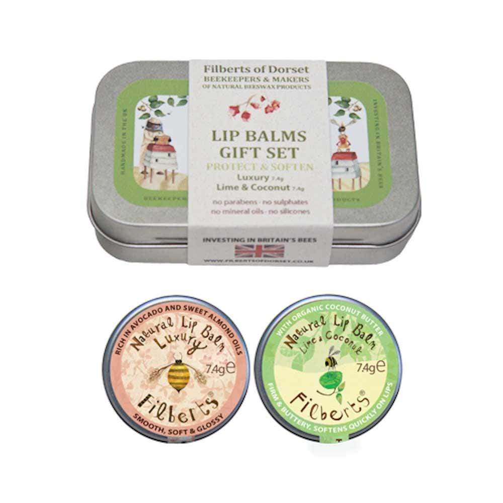 Lip Balm Gift Tin by Filberts Bees &Keep
