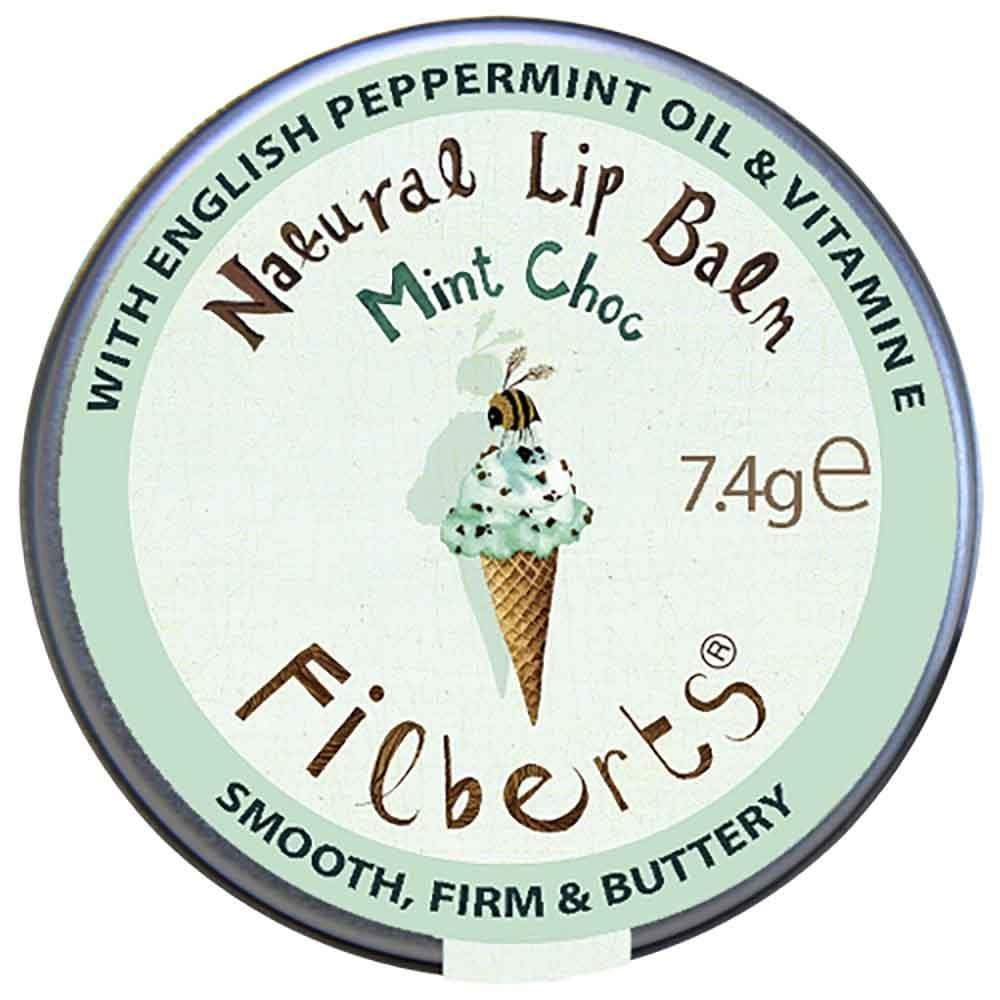 Mint Choc Natural Lip Balm by Filberts Bees &Keep