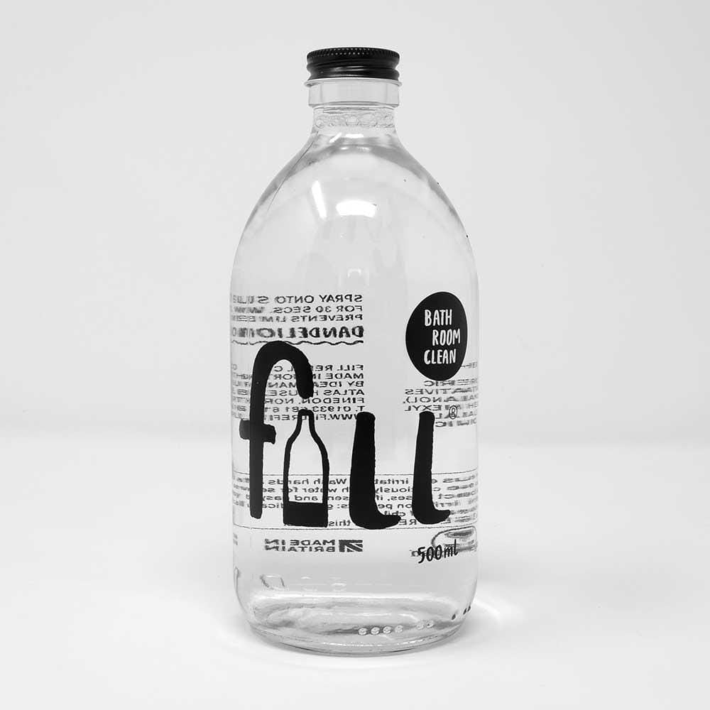 Fill Eco-Friendly Vegan Bathroom Cleaner 500ml &keep