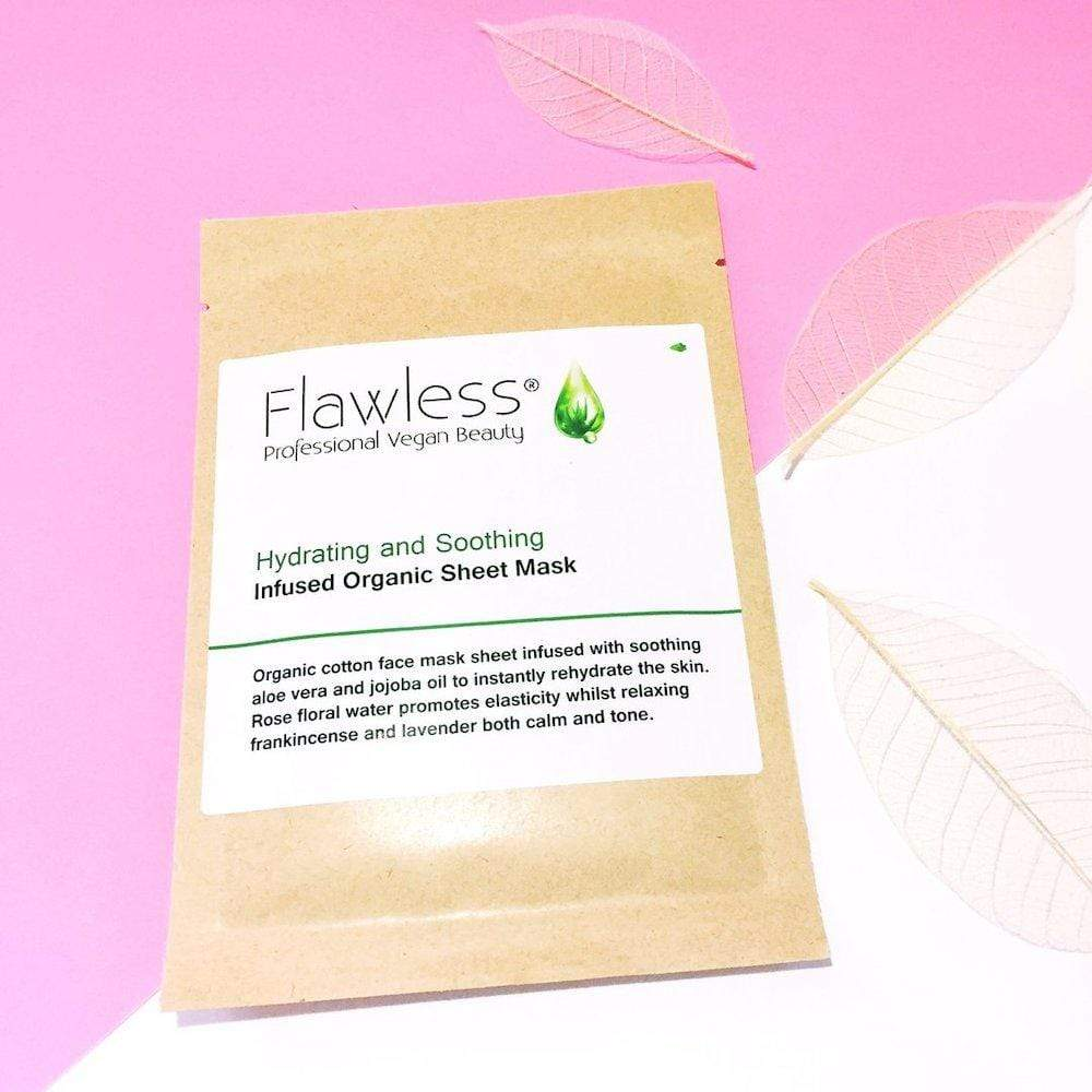 Face Mask Sheets by Flawless Skincare Hydrating & Soothing &Keep