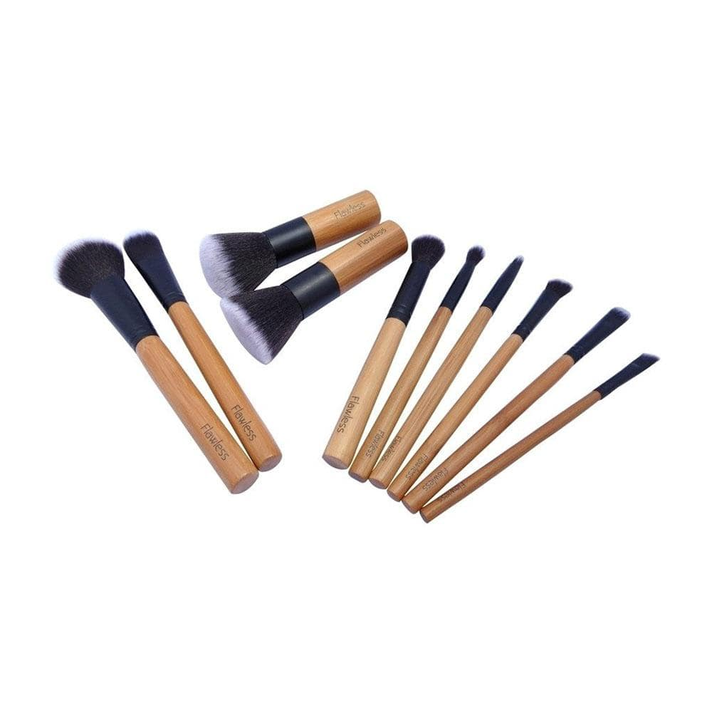 11 Piece Make-Up Brush Set by Flawless Skincare &Keep