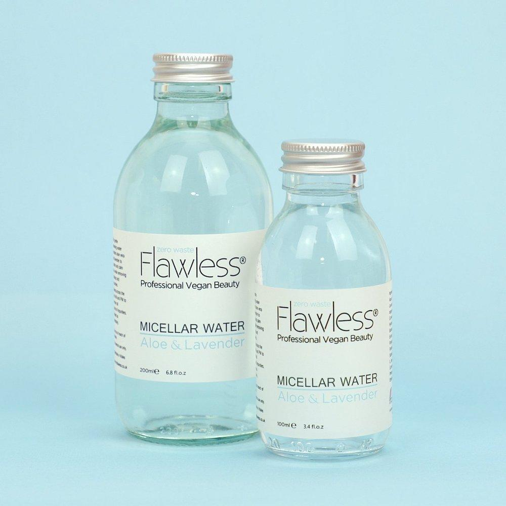 Micellar Water Make-Up Remover - Aloe & Lavender by Flawless Skincare &Keep