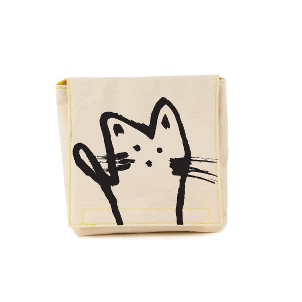 Organic Cotton Snack Pack - Meow Fluf &Keep