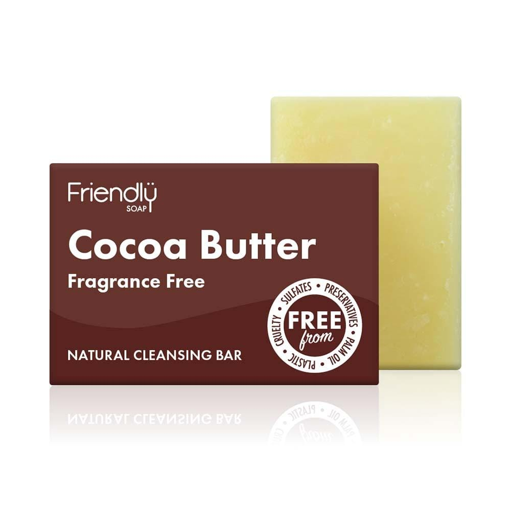 Friendly Soap - Cocoa Butter Facial Cleansing Bar &Keep