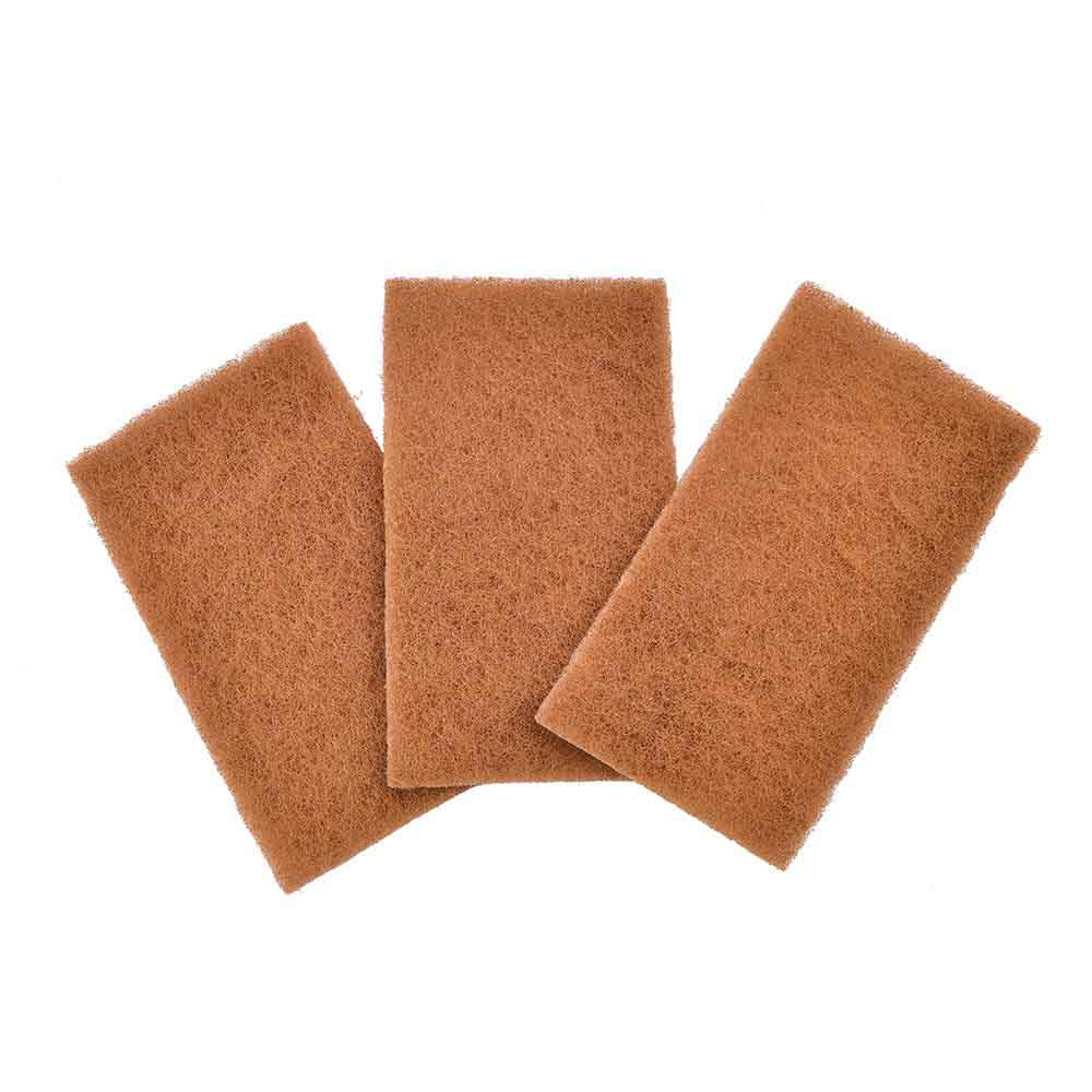 Walnut Scourer Pads - Neat Nut - Set of 3 Full Circle &Keep