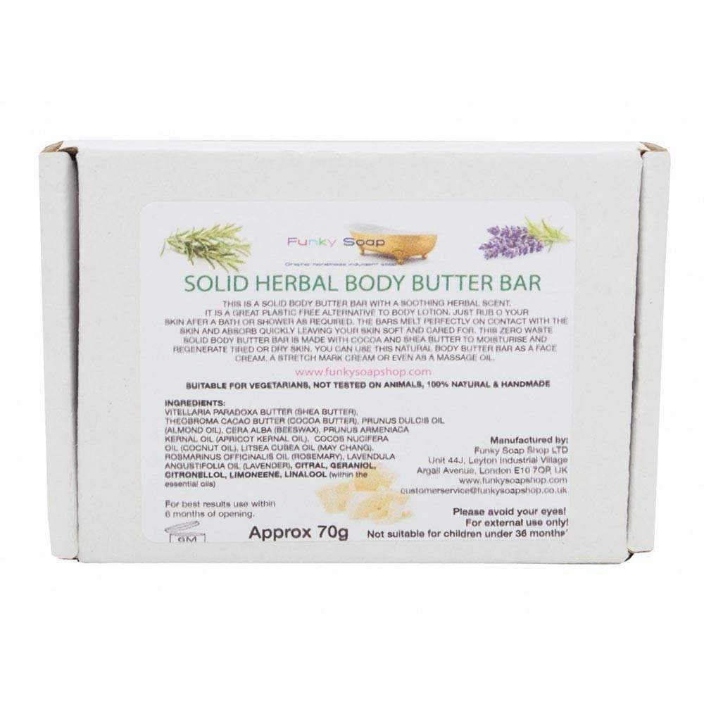 Herbal Body Butter Bar &Keep