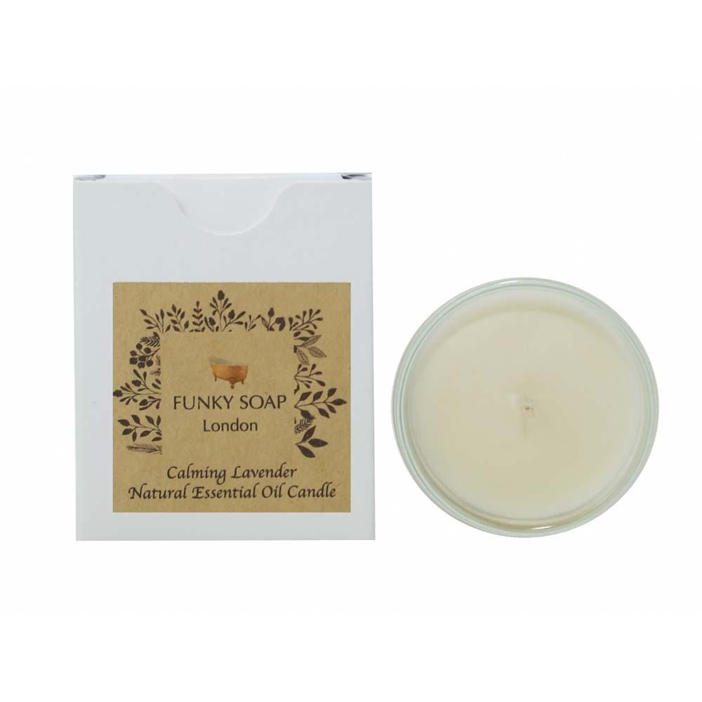 Calming Lavender Essential Oil Candle &Keep