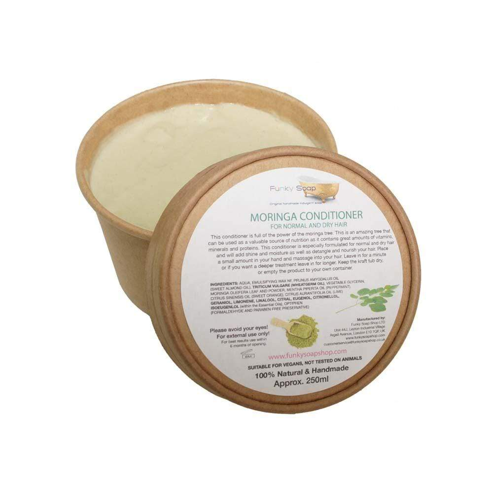 Moringa Hair Conditioner, 250ml Kraft Tub &Keep
