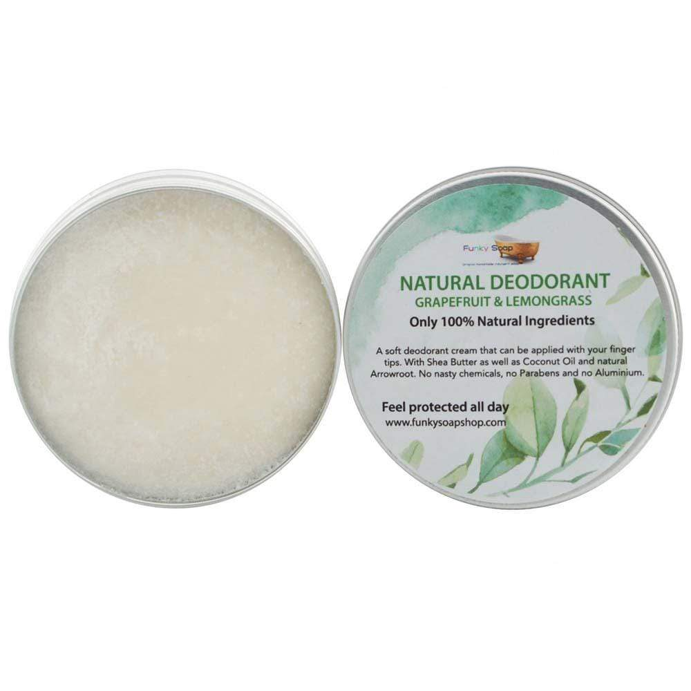 Natural Vegan Deodorant - Grapefruit & Lemongrass &Keep