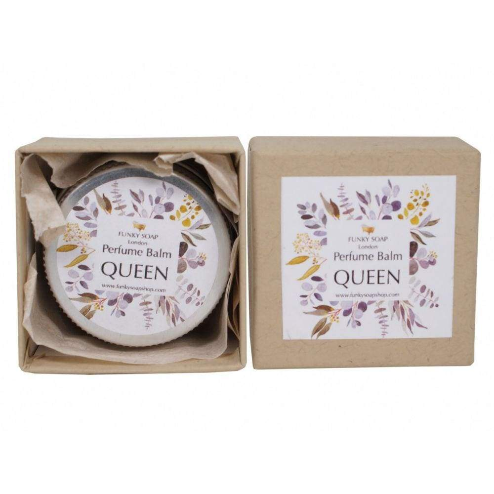 Funky Soap 100% Natural Perfume Balm - Queen &Keep