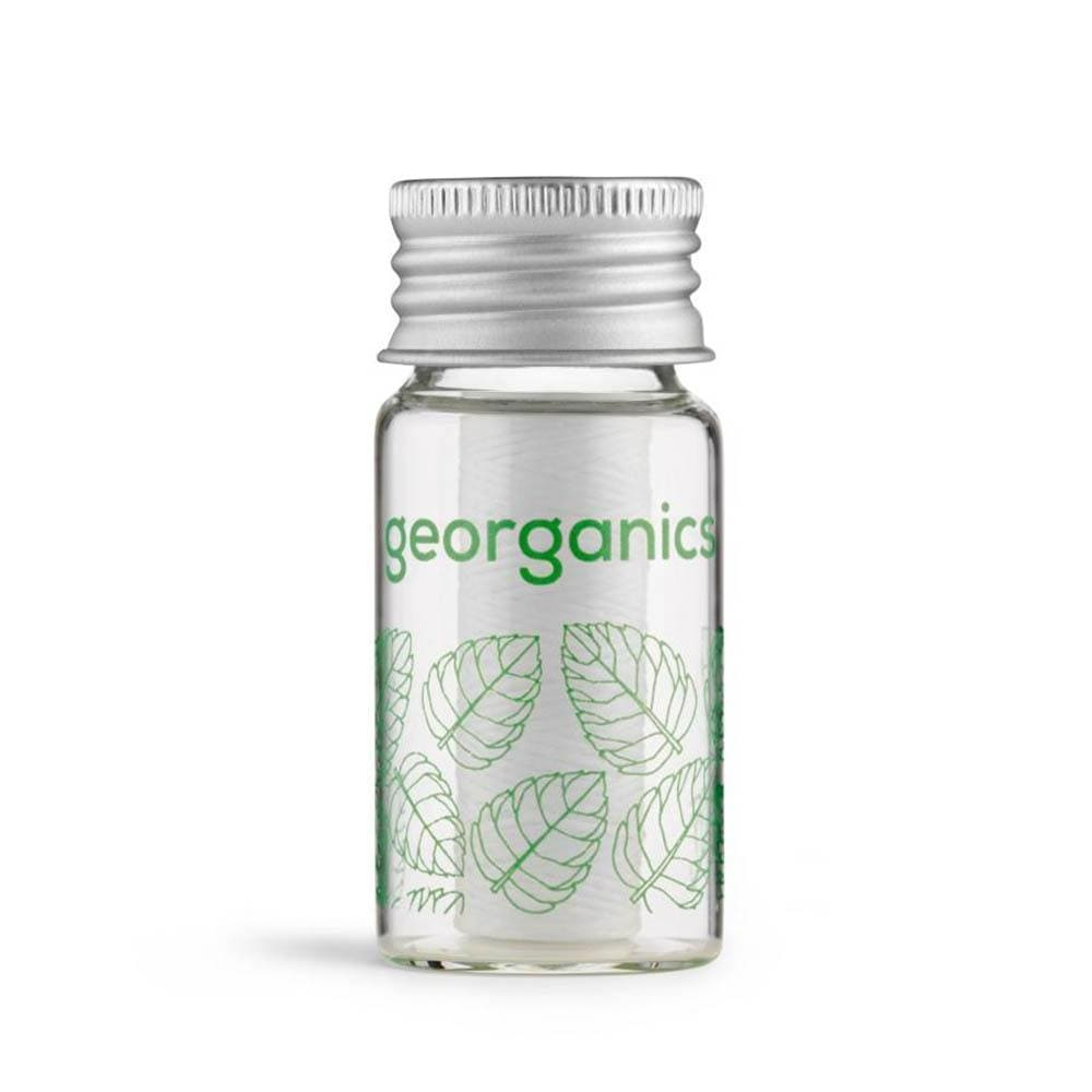 Georganics Vegan Corn Starch Dental Floss - Spearmint &Keep
