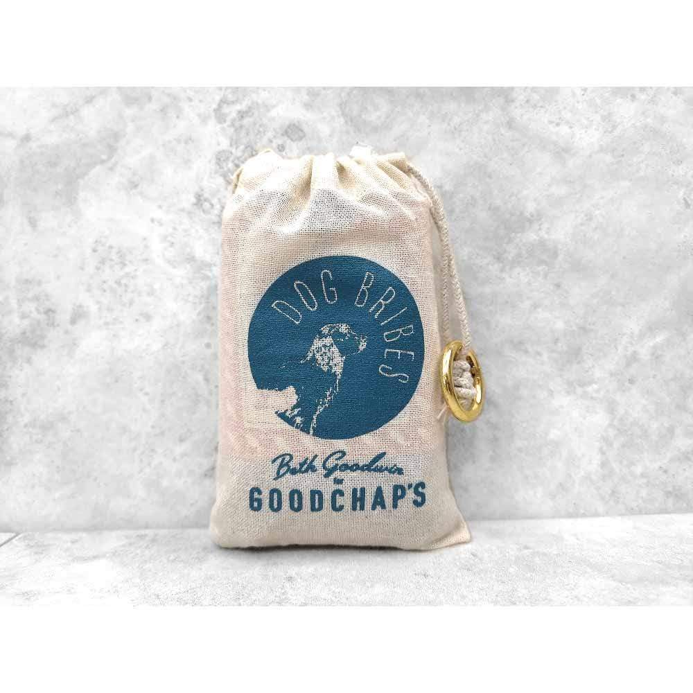 Goodchaps Cotton Treat Pouch with Clip &Keep