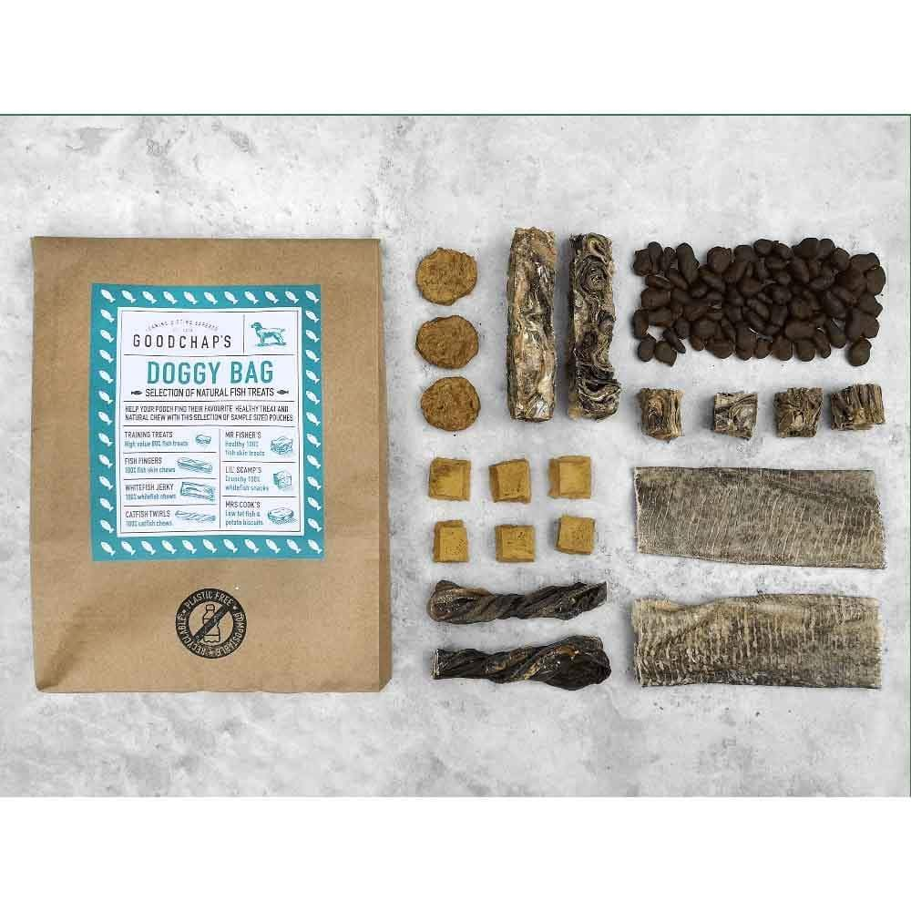 Goodchap's Doggy Bag Mixed Dog Treats &Keep