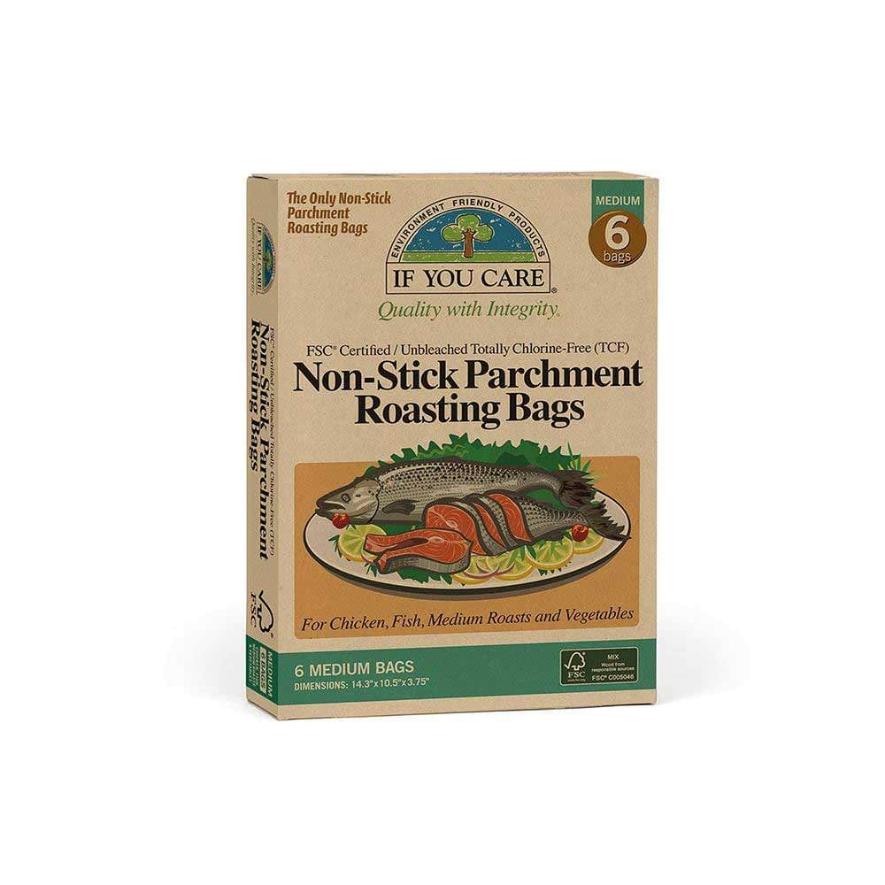 Compostable Unbleached Non-Stick Roasting Bags - Medium &Keep If You Care