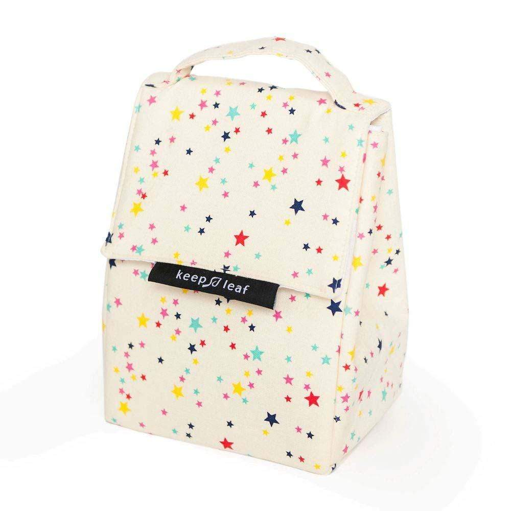 Organic Cotton Insulated Lunch Bag - Keep Leaf &Keep