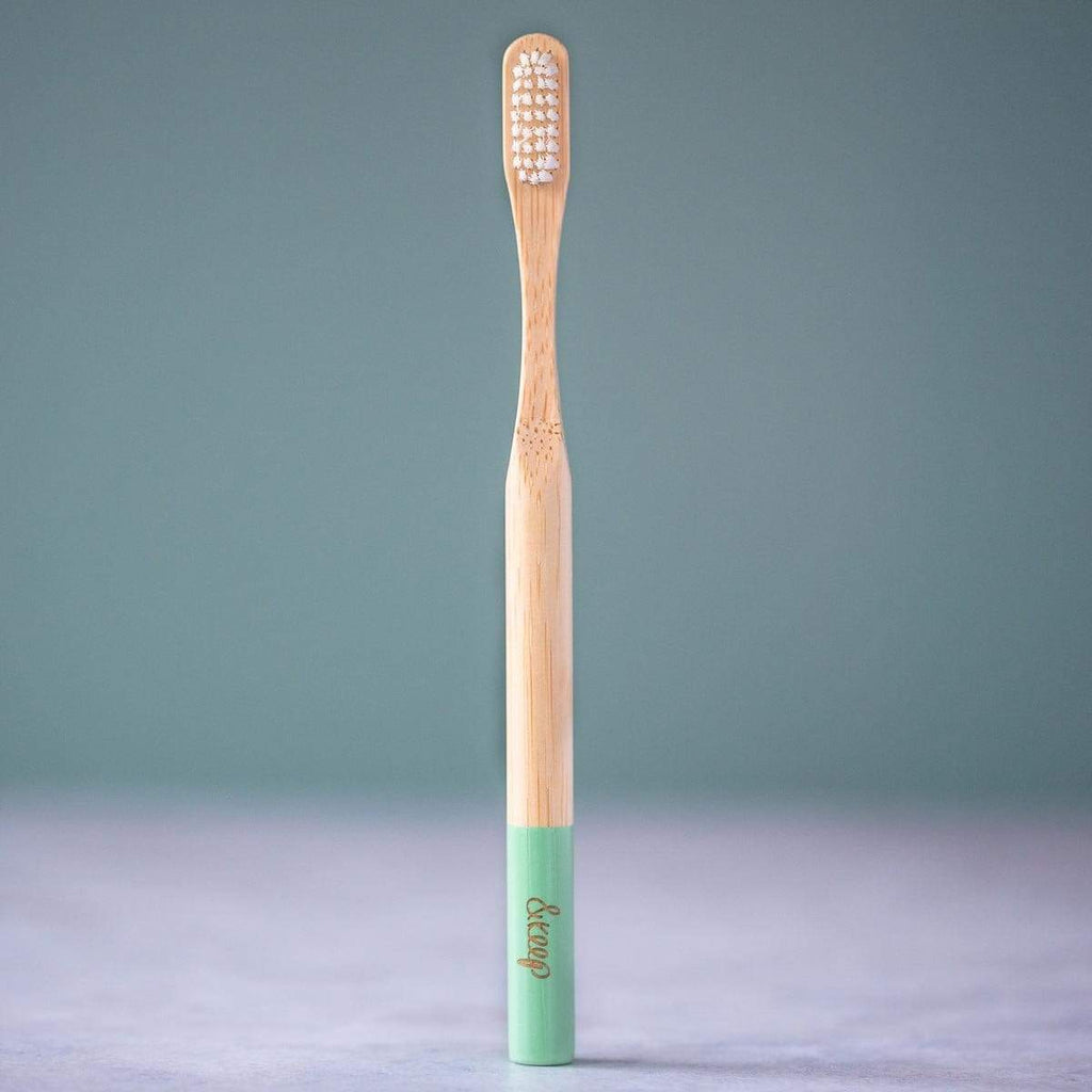 &Keep Bamboo Toothbrush - Green