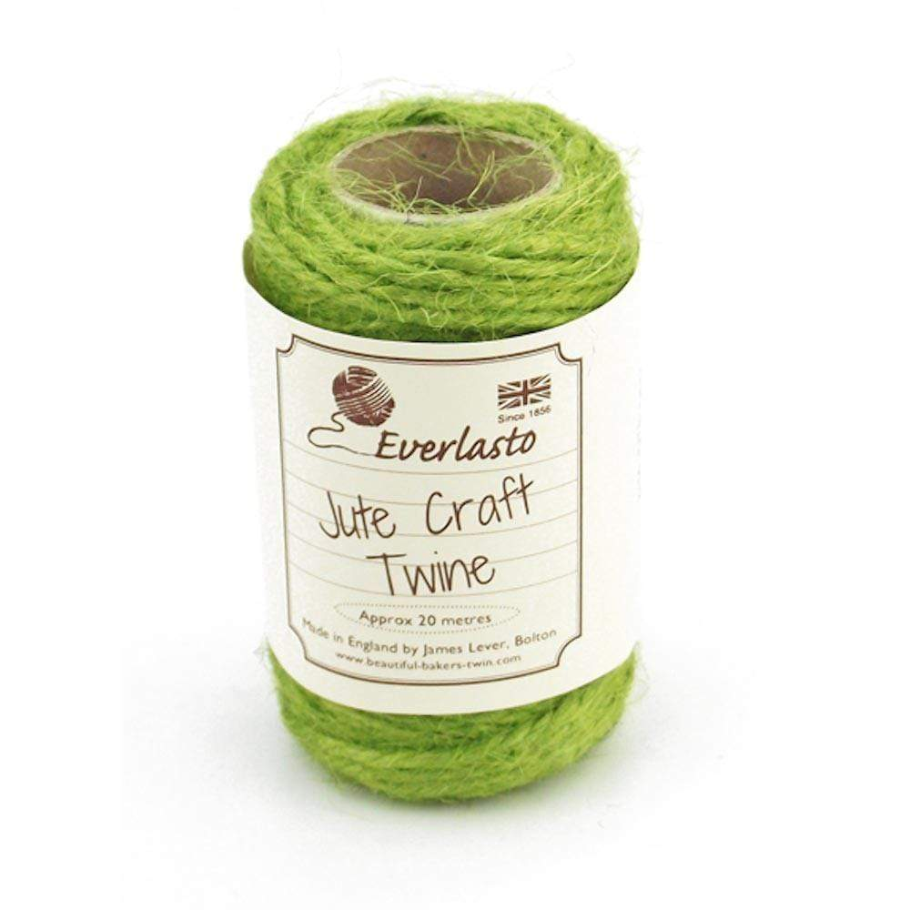 Apple Green Jute Twine 20m &Keep