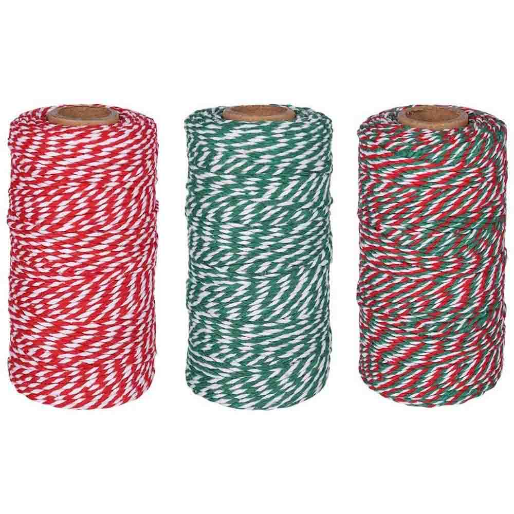 Striped Cotton Twine 100m &Keep