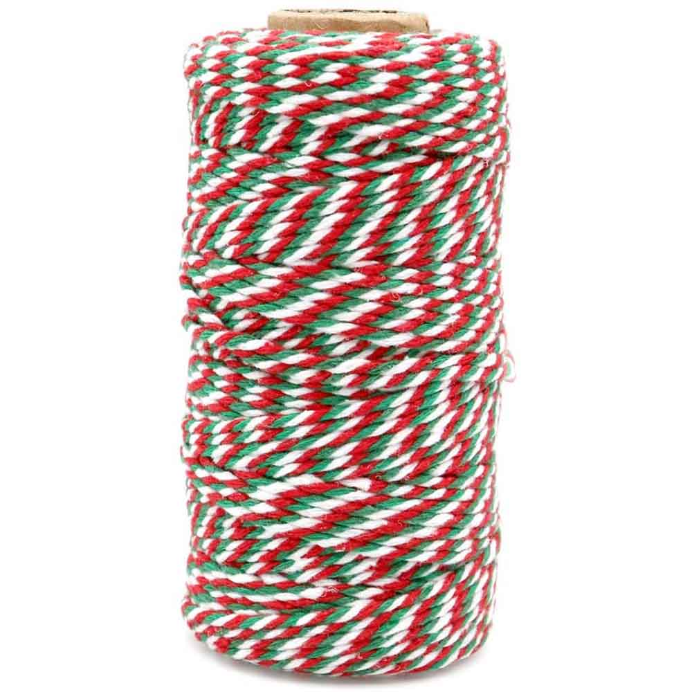 Striped Cotton Twine 100m