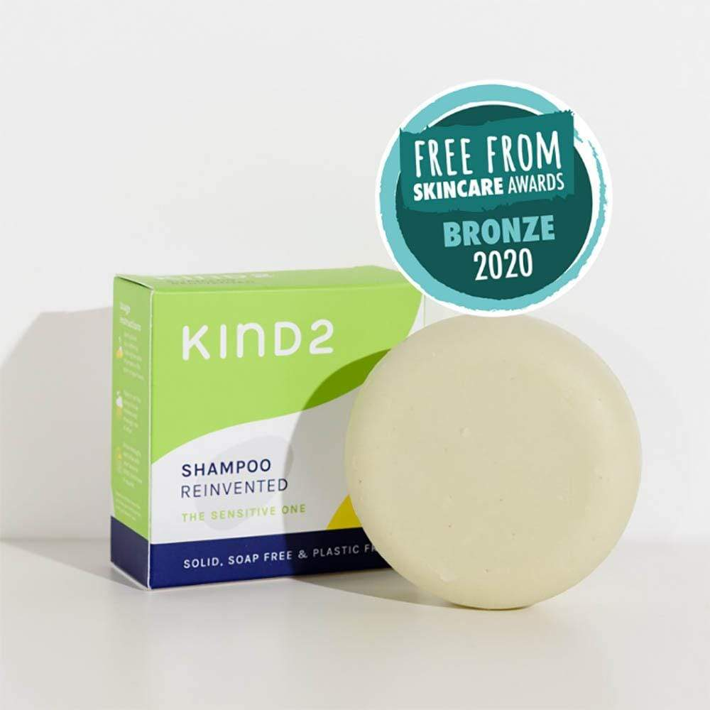The Sensitive One Solid Shampoo by KIND2 &Keep