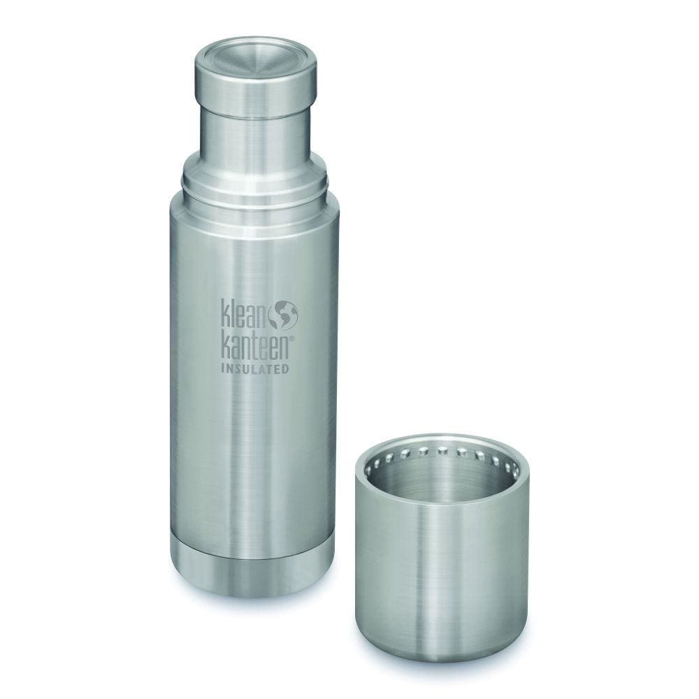 Klean Kanteen Klean Kanteen TKPro Insulated Flask with Cup - Brushed Steel 500ml &Keep