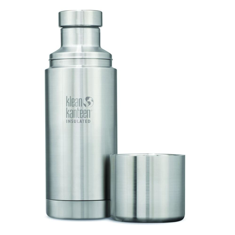 Klean Kanteen Klean Kanteen TKPro Insulated Flask with Cup - Brushed Steel 750ml &Keep