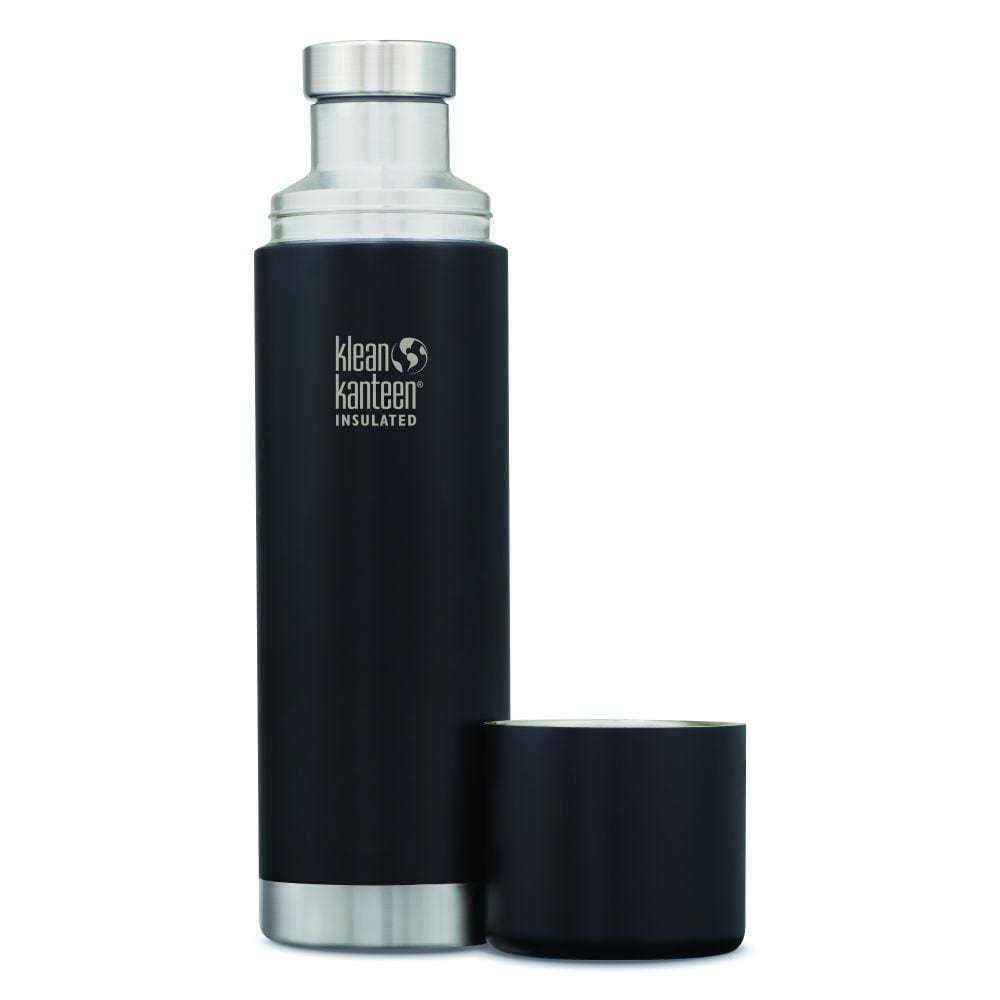 Klean Kanteen Klean Kanteen TKPro Insulated Flask with Cup - Shale Black 1000ml &Keep