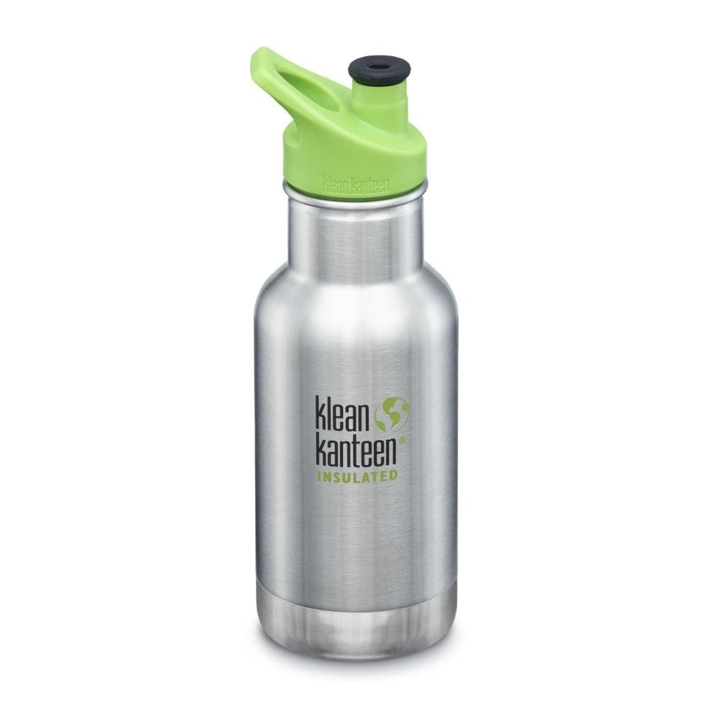 Klean Kanteen Kid Kanteen Insulated Classic Sports 355ml - Brushed Steel &Keep