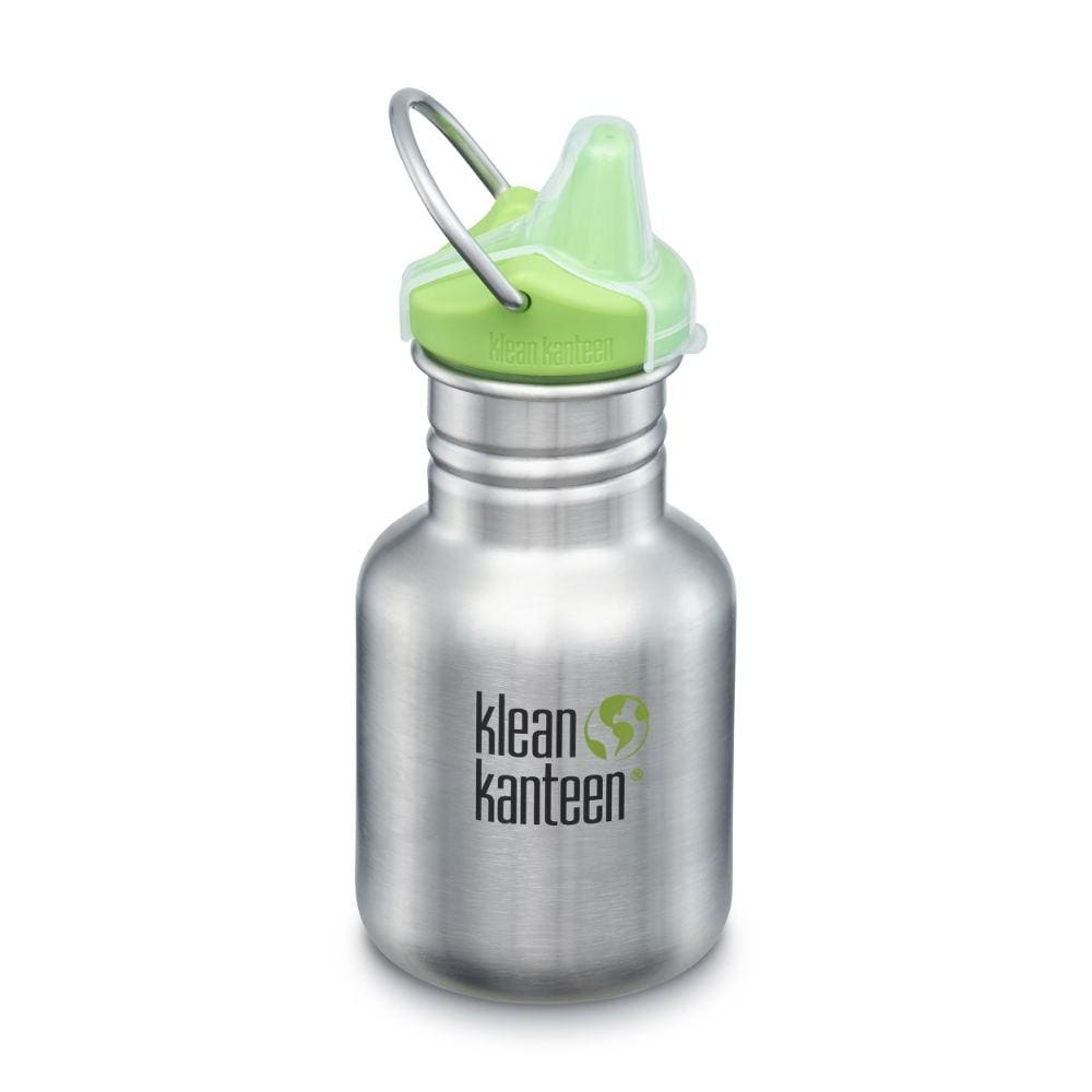 Klean Kanteen Kid Kanteen Stainless Steel Sippy 355ml - Brushed Steel &Keep
