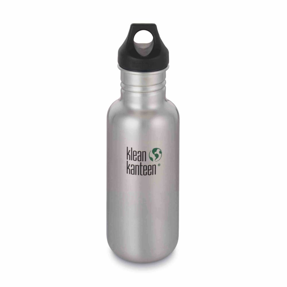 Klean Kanteen Klean Kanteen Classic Stainless Steel 532Ml Reusable Bottle - Loop Cap &keep