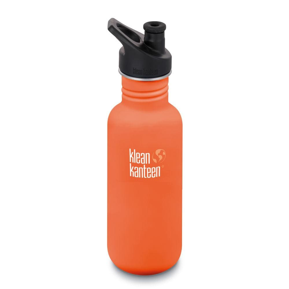 Klean Kanteen Klean Kanteen Classic Stainless Steel 532ml Reusable Bottle - Sierra Sunset &Keep
