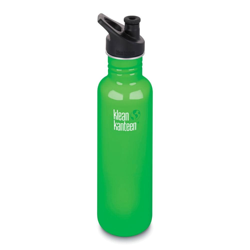 Klean Kanteen Klean Kanteen Classic Stainless Steel 800Ml Reusable Bottle - Spring Green &keep