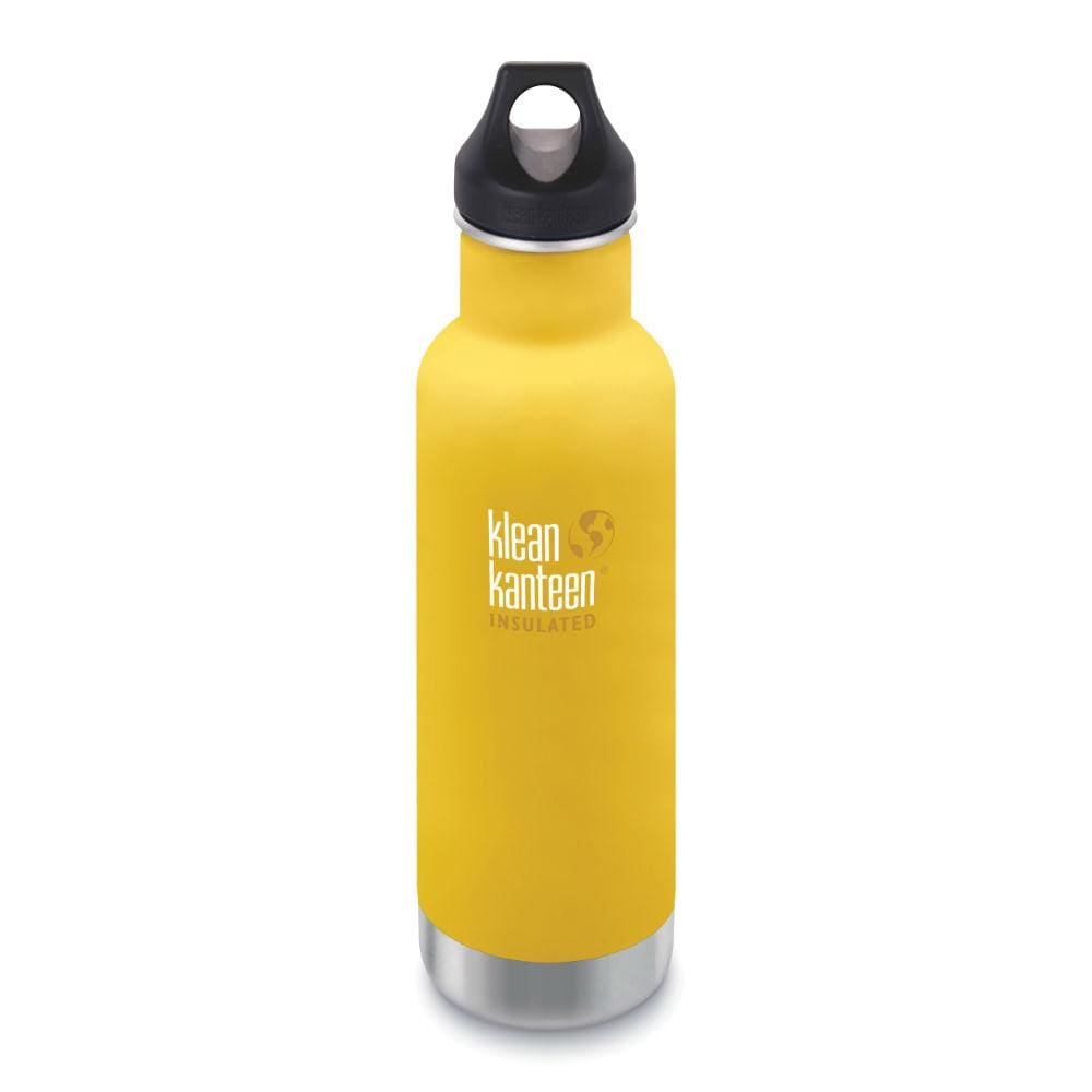 Klean Kanteen Klean Kanteen Insulated Classic Stainless Steel 592Ml Reusable Bottle - Lemon Curry &keep