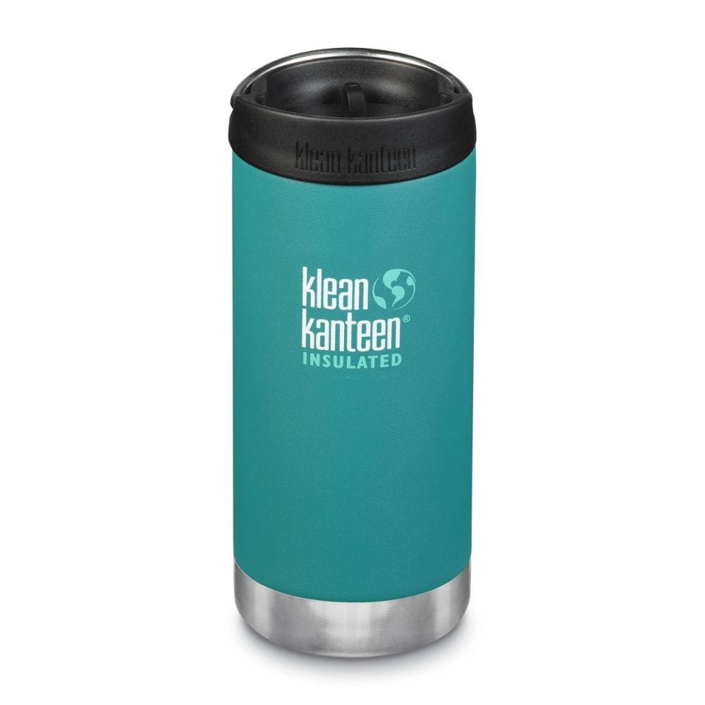 Klean Kanteen Klean Kanteen TKWide 355ml Insulated with Café Cap - Emerald Bay &Keep