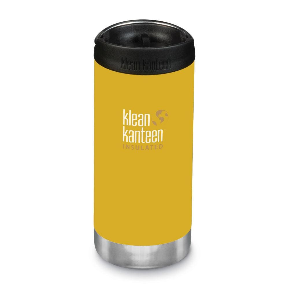Klean Kanteen Klean Kanteen TKWide 355ml Insulated with Café Cap - Lemon Curry &Keep