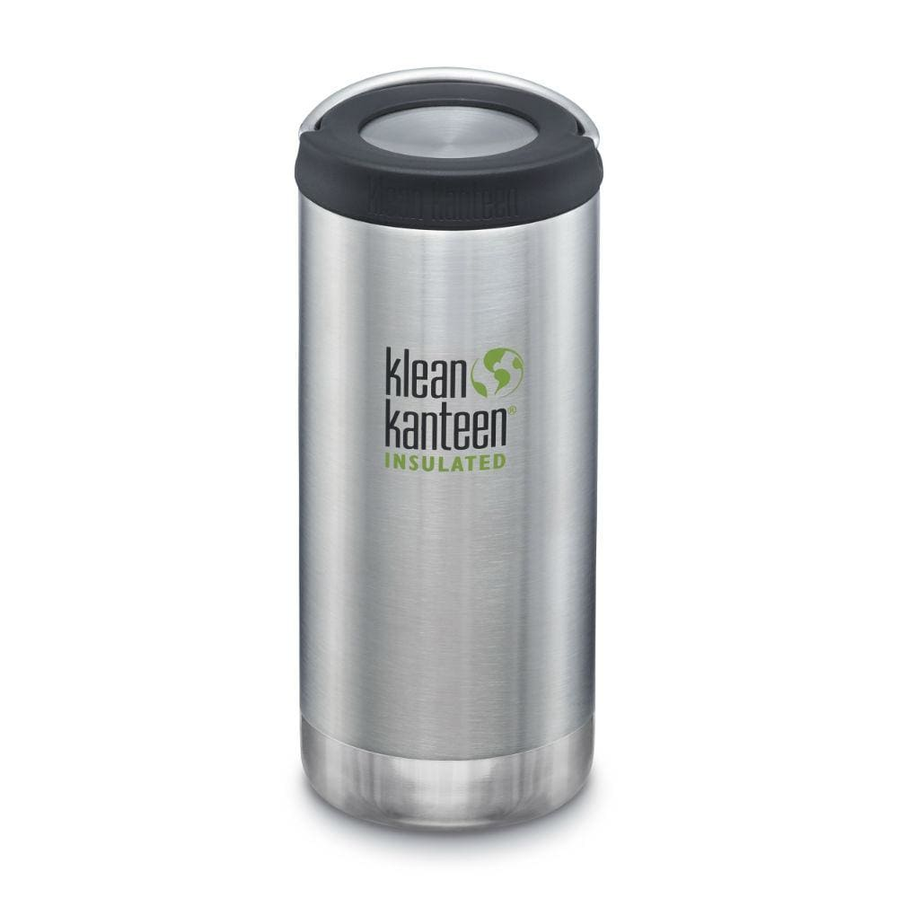 Klean Kanteen Klean Kanteen TKWide 355ml Insulated with Loop Cap - Brushed Steel &Keep
