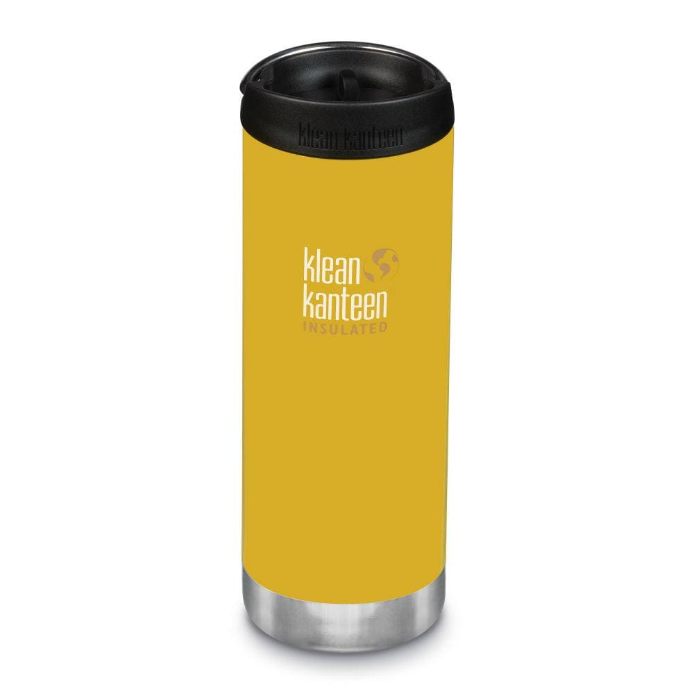 Klean Kanteen Klean Kanteen TKWide 473ml Insulated with Café Cap - Lemon Curry &Keep
