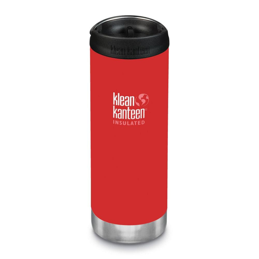 Klean Kanteen TKWide 473ml Insulated with Café Cap - Post Box Red &Keep