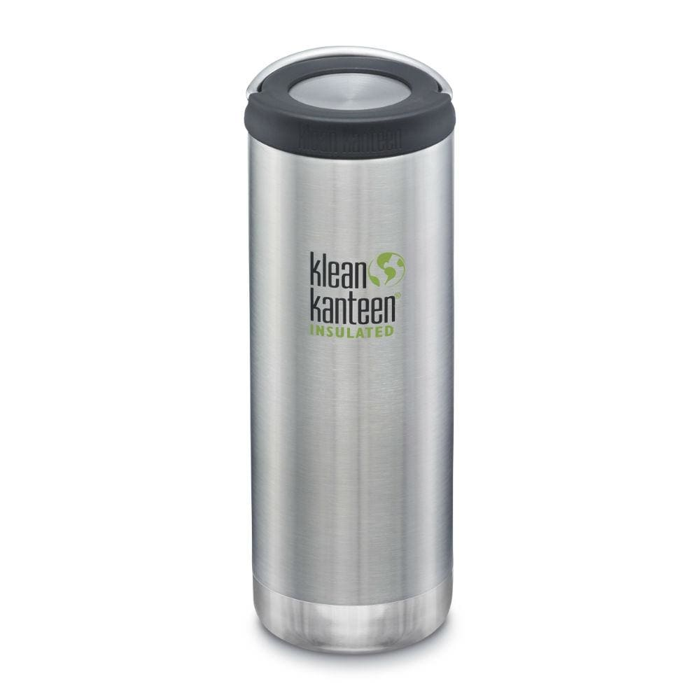 Klean Kanteen Klean Kanteen TKWide 473ml Insulated with Loop Cap - Brushed Steel &Keep