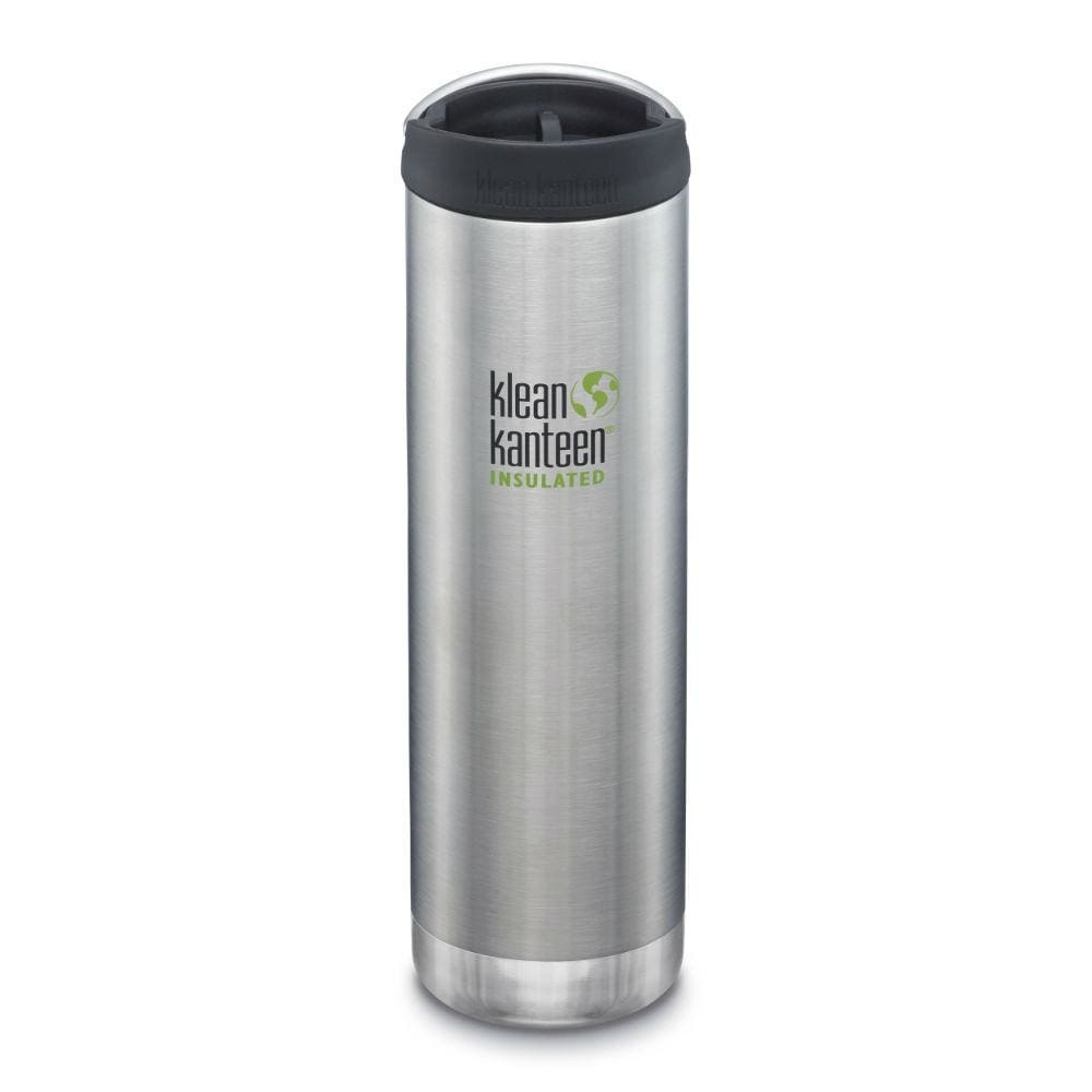 Klean Kanteen Klean Kanteen TKWide 592ml Insulated with Café Cap - Brushed Steel &Keep