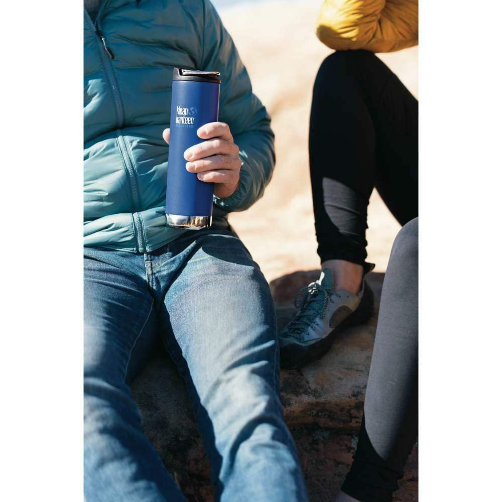 Klean Kanteen Klean Kanteen TKWide 592ml Insulated with Café Cap - Deep Surf &Keep