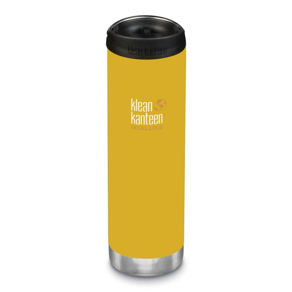 Klean Kanteen Klean Kanteen TKWide 592ml Insulated with Café Cap - Lemon Curry &Keep