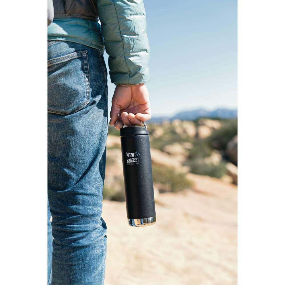 Klean Kanteen Klean Kanteen TKWide 592ml Insulated with Café Cap - Shale Black &Keep