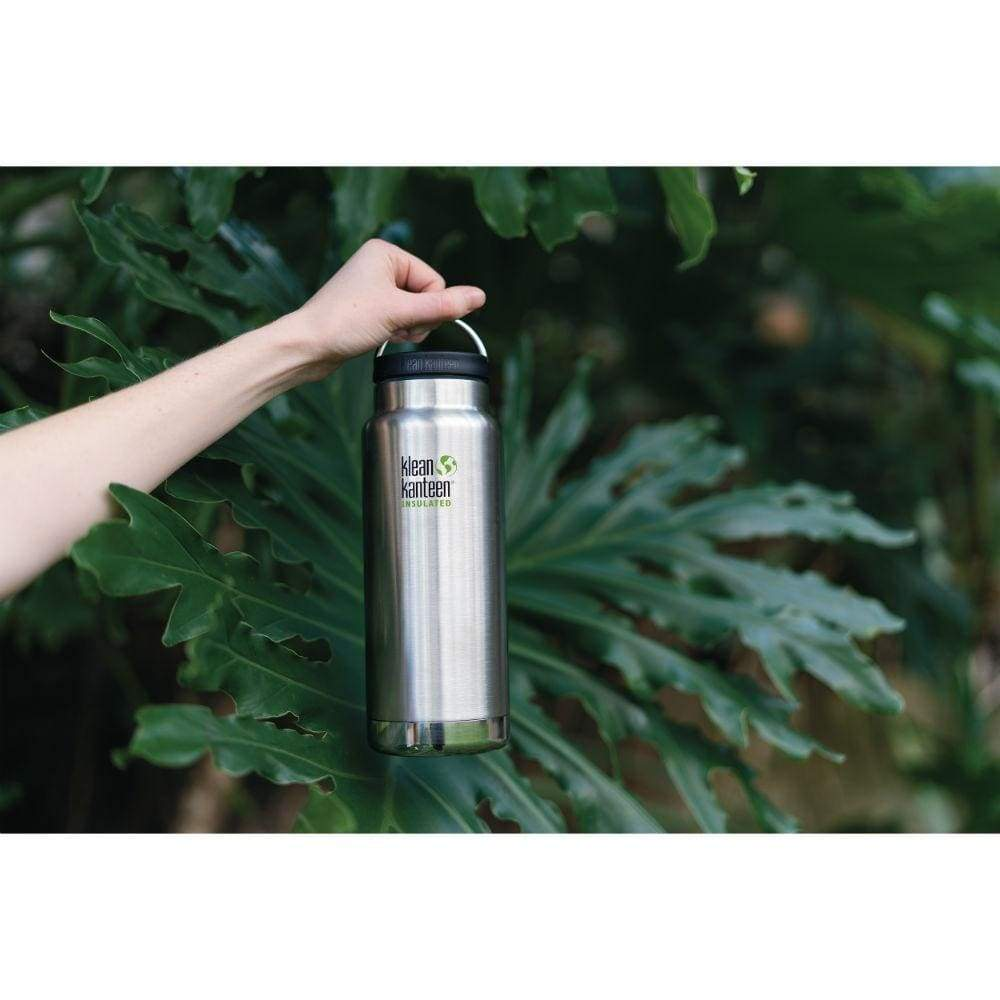 Klean Kanteen Klean Kanteen TKWide 946ml Insulated with Loop Cap - Brushed Steel &Keep