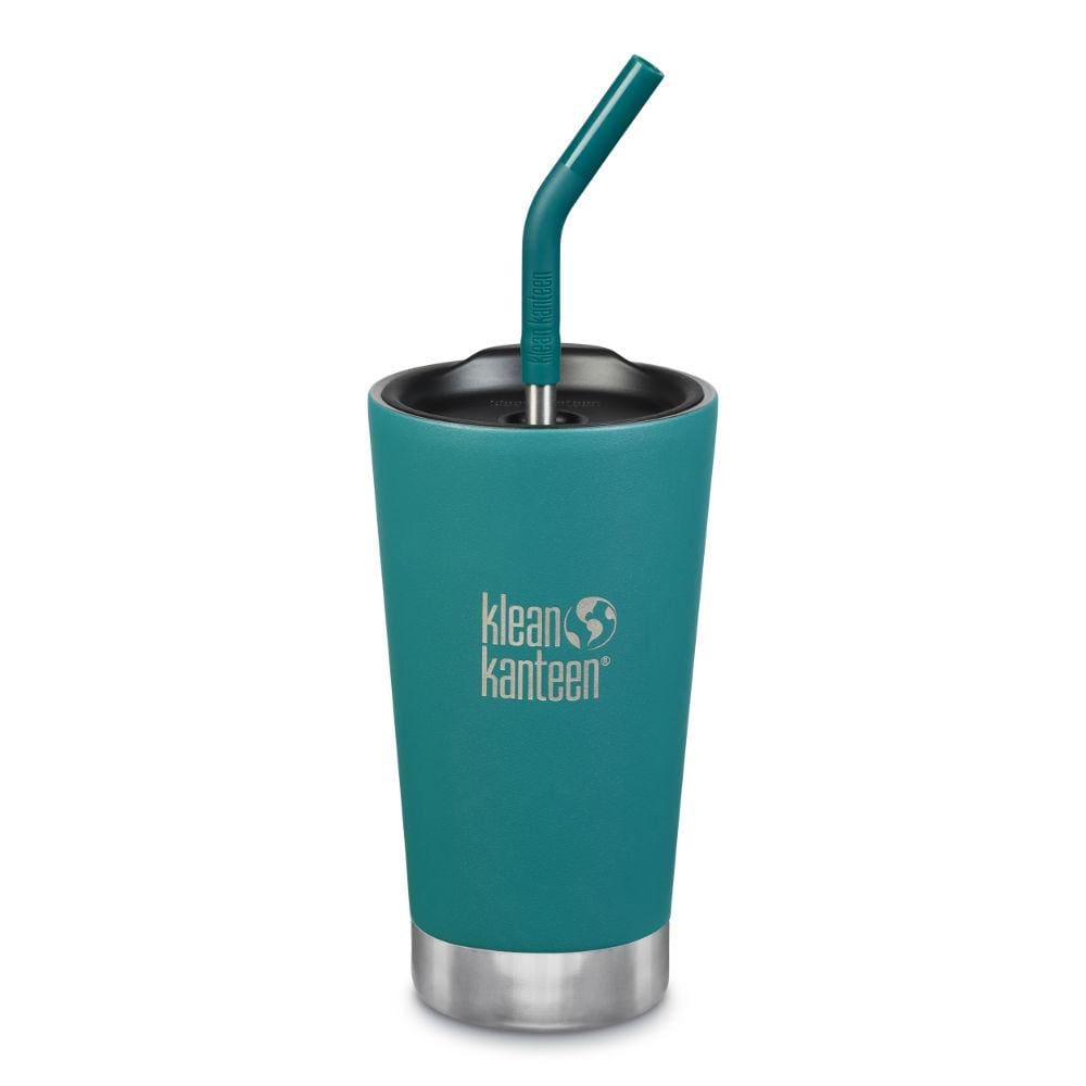 Klean Kanteen Klean Kanteen Insulated Tumbler (473ml) with Straw & Lid - Emerald Bay &Keep