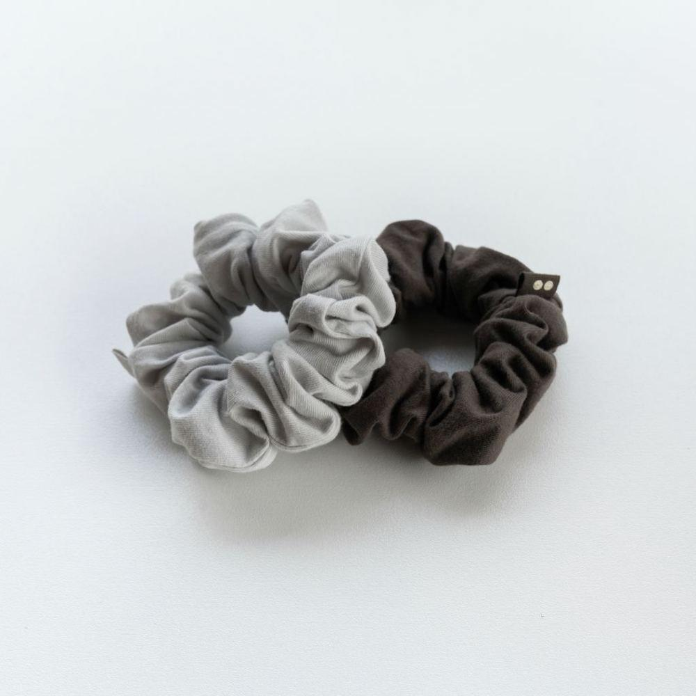Kooshoo Organic Plastic-Free Scrunchies - Moon Shadow &Keep