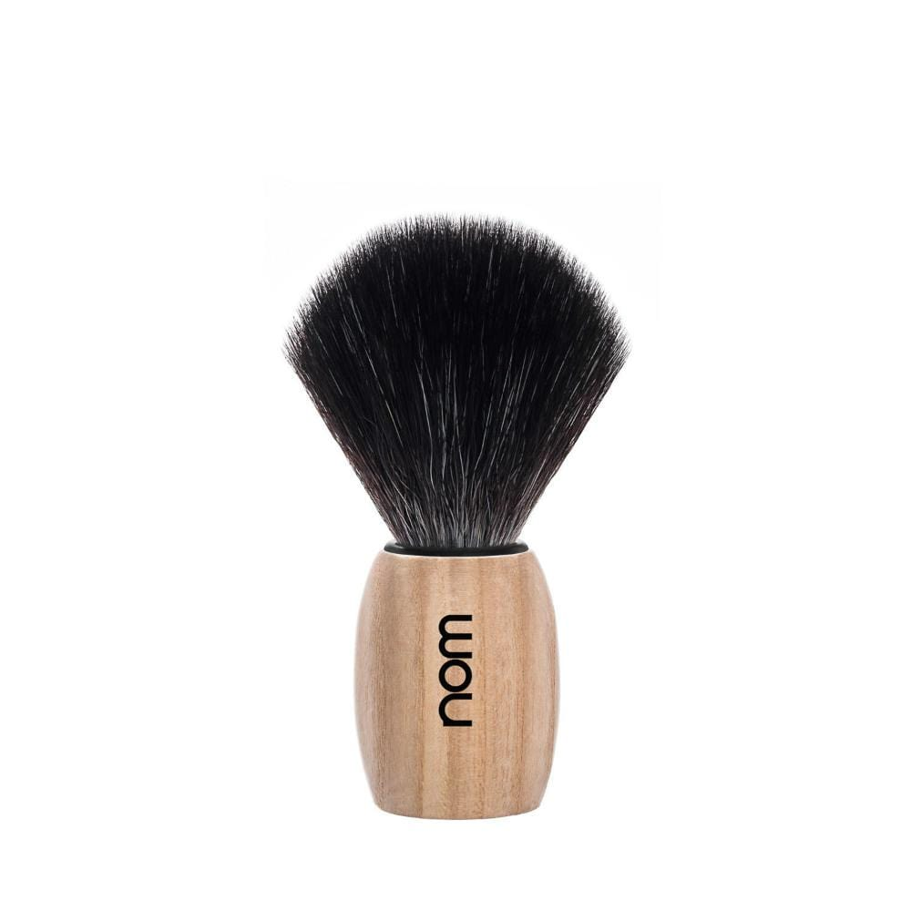nom OLE Pure Ash Vegan Fibre Shaving Brush &Keep