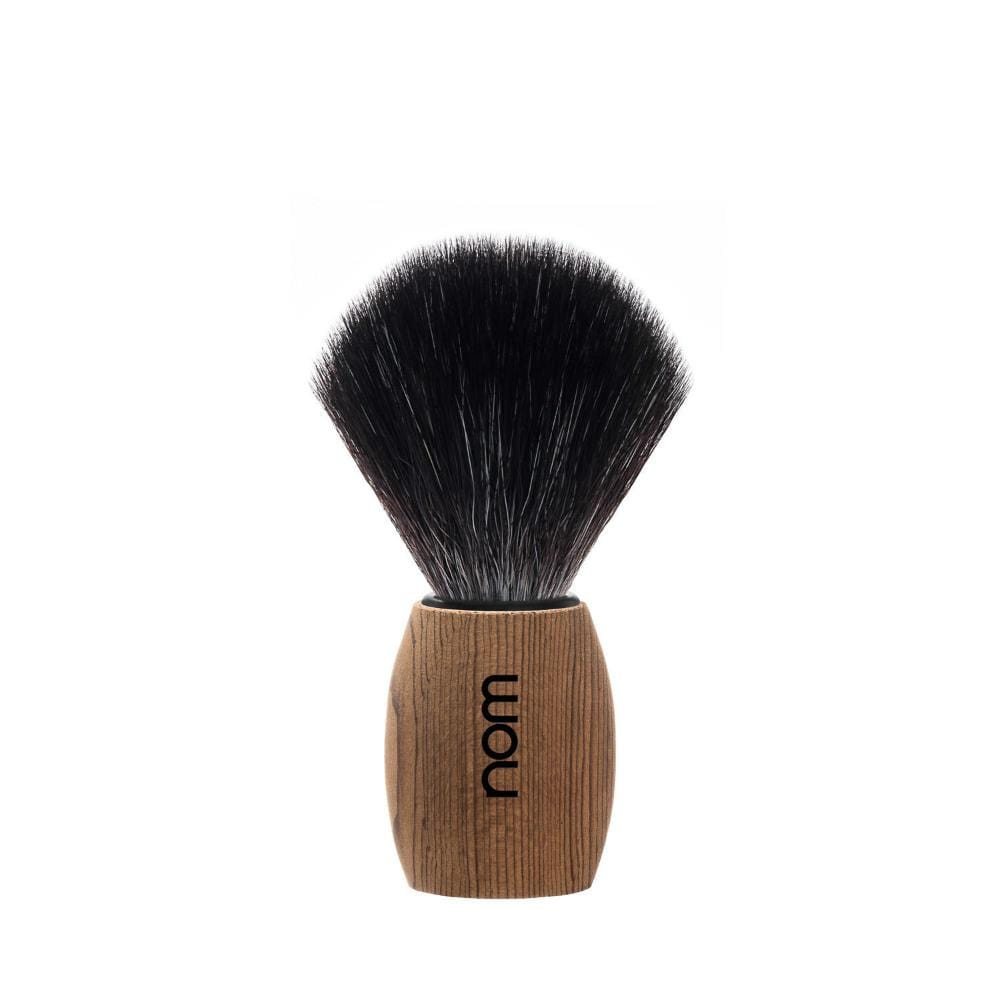 nom OLE Pure Spruce Vegan Fibre Shaving Brush &Keep