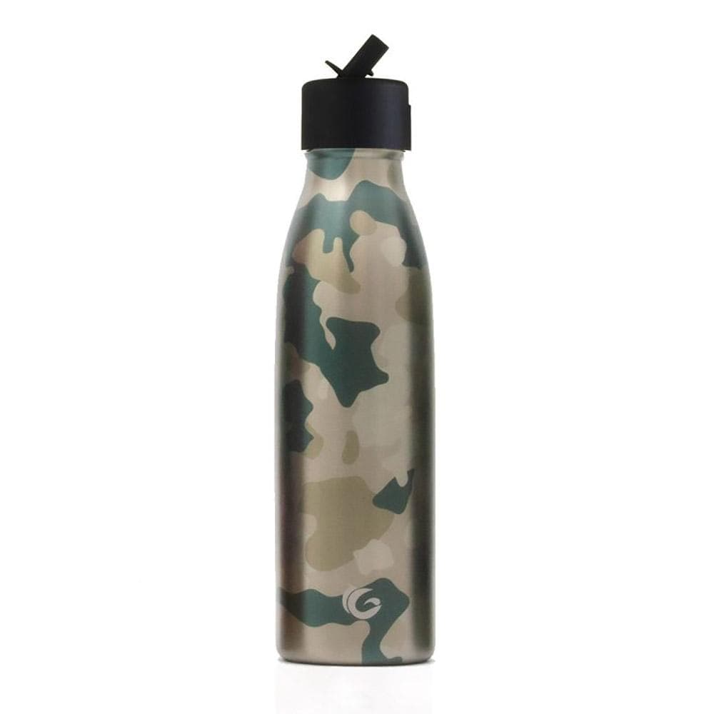 One Green Bottle Desert Camouflage Stainless Steel Bottle 500ml &Keep